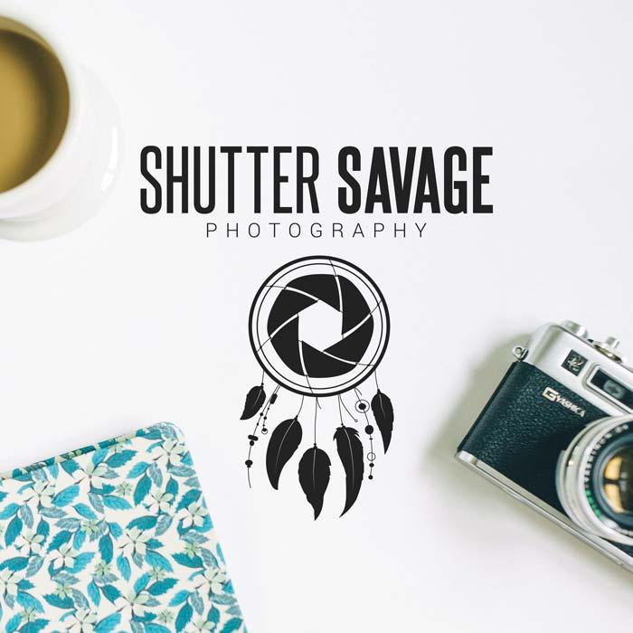 Creative K - Graphic Designer & Web Developer Logo - Shutter Savage
